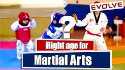 What is the Right Age for Learning Martial Arts | Taekwondo (HINDI Audio)