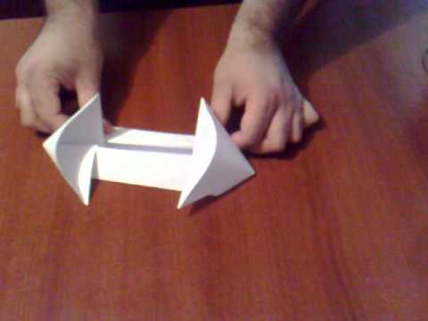 How To Make An Alien Warship Origami