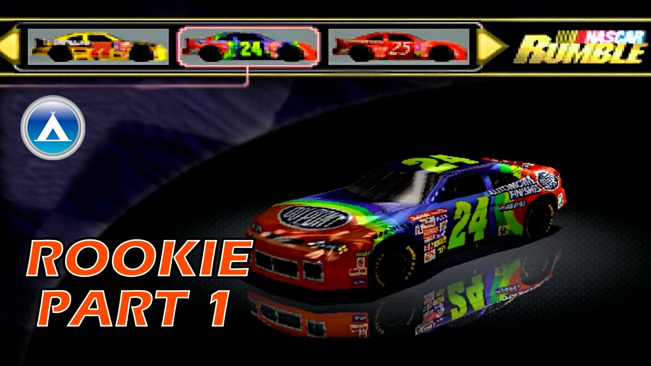 Nascar Rumble Rookie Gameplay Playthrough Part 1 HD - YouTube
