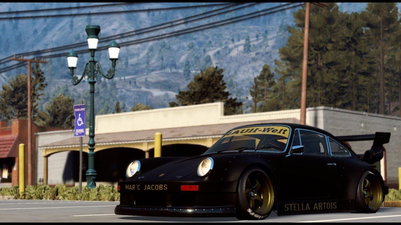 Porsche 911 RWB Stella Artois NFS PAYBACK