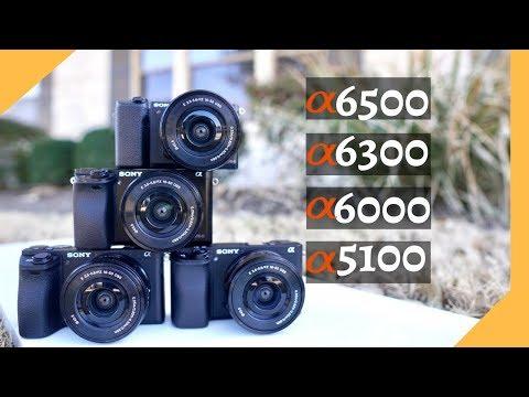 Sony A5100 vs A6000 vs A6300 vs A6500: A Buying Guide