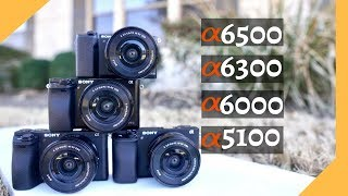 Sony A5100 vs A6000 vs A6300 vs A6500: A Buying Guide