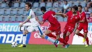 Přípravné utkání Česko - Malta 2016  6:0