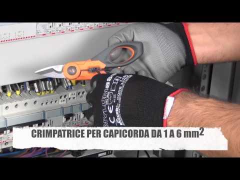 HT F40 Forbice TagliaCrimpa progettata per l'installatore