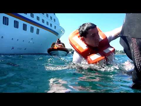 Basic Safety Training on cruiseship