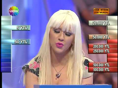 Christina Aguilera - Hurt (Live Acapella @ Turkish Deal Or No Deal) [Clip]