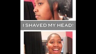 Baldhead Scallywag | SHAVED MY HEAD!