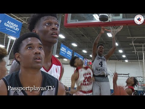 Evan Mobley 23 PTS... Compton Magic vs Bradley NW Panthers