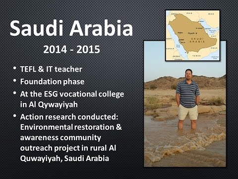 Teaching ESL in Saudi Arabia (2014 - 2015)