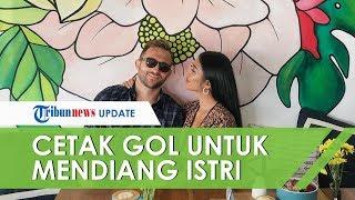 Laga Bali United VS Persib Bandung, Spaso Menangis Persembahkan Gol untuk Mendiang Istri Tercinta