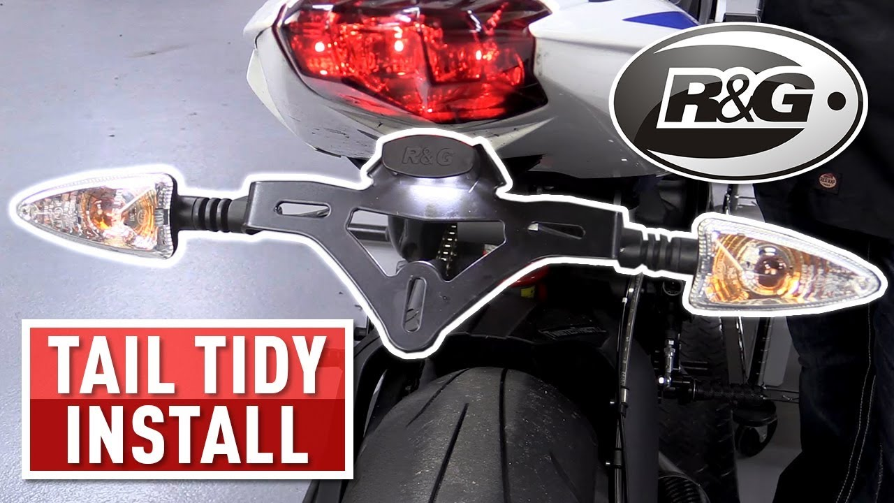 R/&G Tail Tidy for  Yamaha T-Max 530 2017