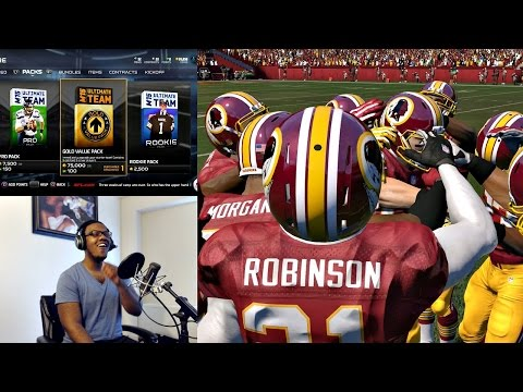 Madden 15 PS4 Ultimate Team Mode Gameplay FACECAM - All or Nothing!! Ep. 1