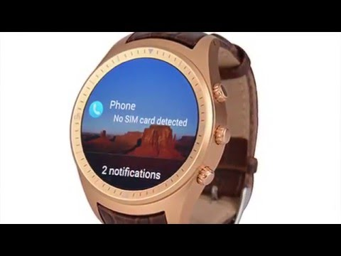 ZEAPLUS K18 / W806 Round Smart Watch Android 4.4.2 HD Full UI Review and Unboxing