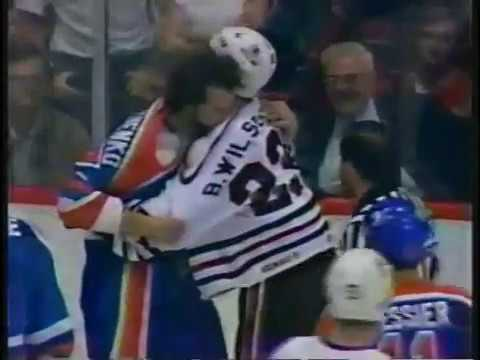 Oilers-Blackhawks Line Brawl - 1985 Playoffs