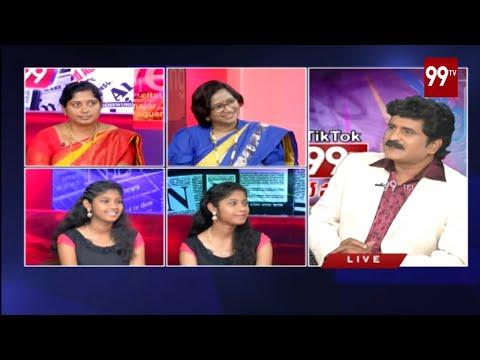 Special Chit Chat With TikTok Celebrities | Tik Tok Talent Hunt | 99TV Telugu