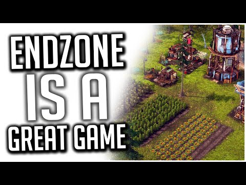 This Game is FANTASTIC if You Like City Builders! | Endzone - A World Apart |