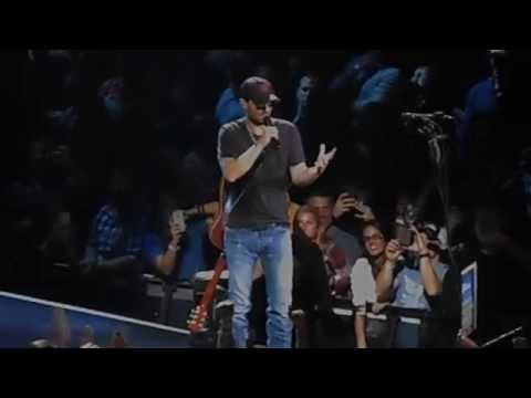 Eric Church Springsteen (Born in the USA) - Madison Square Garden New York, NY 10/17/14