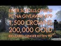 FaZmash's ESO PC NA Giveaway #79 - 1,500 Crowns, 200,000 Gold, Big-Eared Ginger Kitten Pet