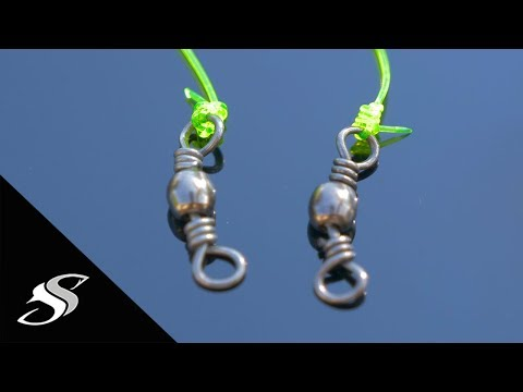 How To Tie A Swivel To Your Fishing Line For Beginners - Two Favorite Knots!
