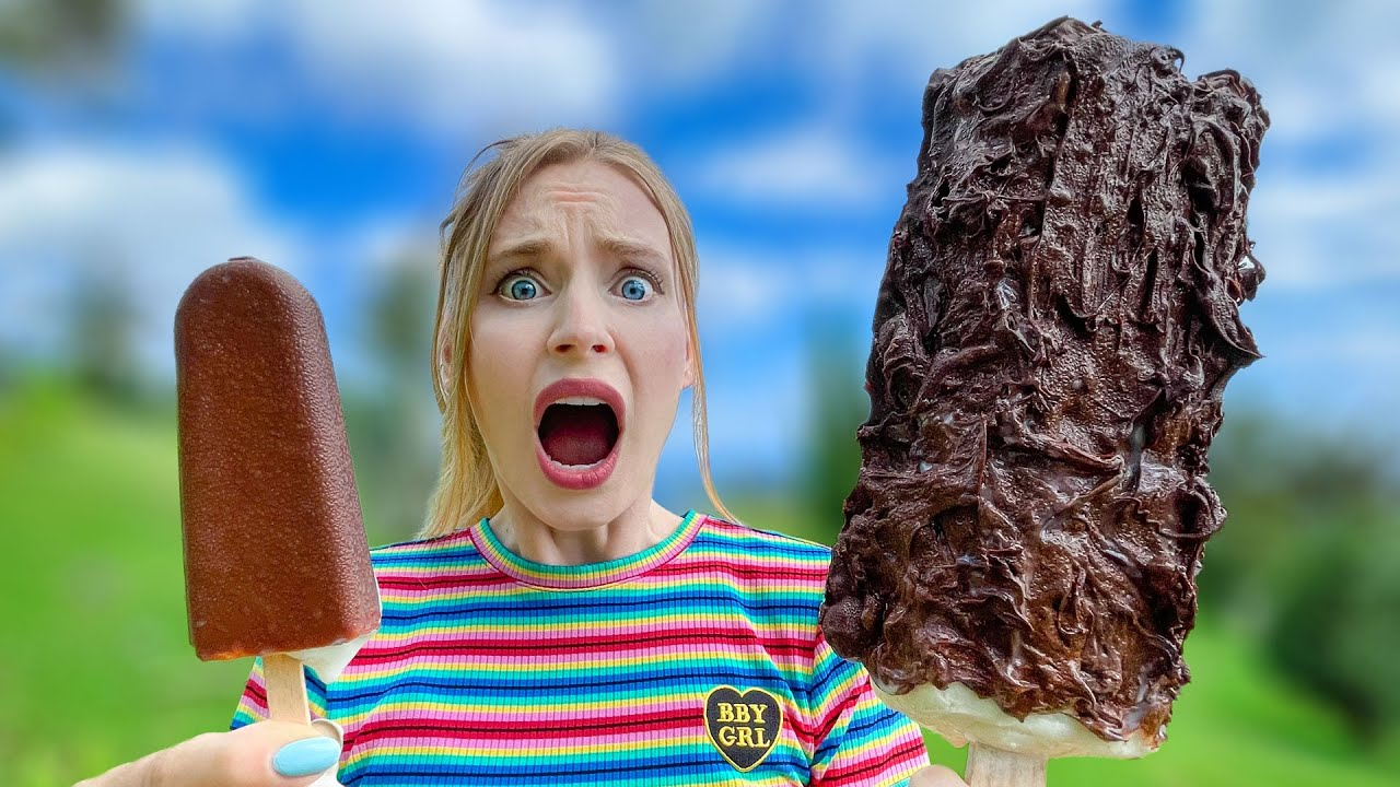 Giant Candy vs Mini Candy! XXL Desserts for Food Lovers!