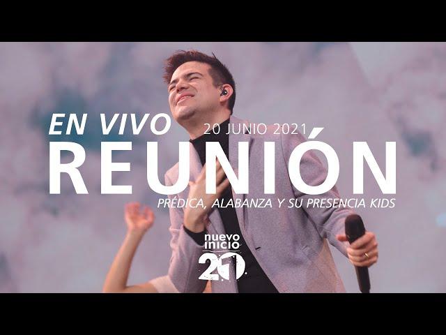 🔴 EN VIVO - Reunión Domingo 🌎🌍🌏 (Prédica, Alabanza y Su Presencia Kids) - 20 Junio 2021