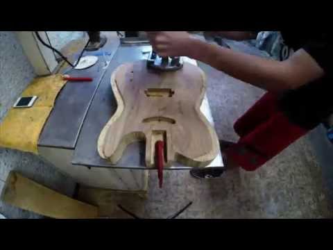 Construindo uma guitarra em casa parte 03