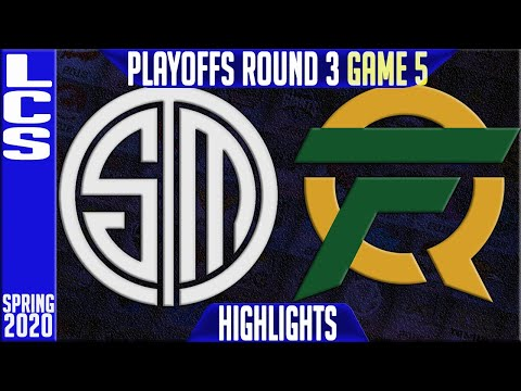 TSM vs FLY Highlights Game 5 | LCS Spring 2020 Playoffs Round 3 | Team Solomid vs FlyQuest G5