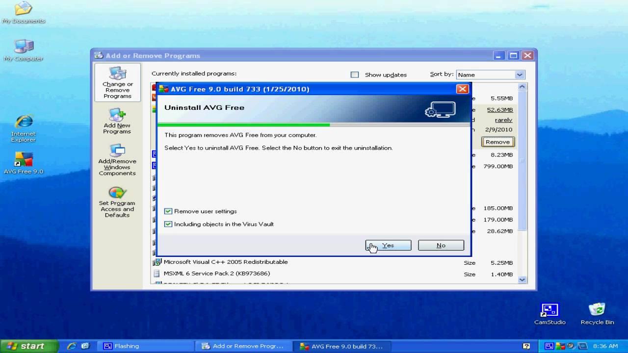 How To Uninstall Avg Antivirus Free Edition