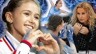Как КАМИЛА ВАЛИЕВА попала в группу ТУТБЕРИДЗЕ Figure skating