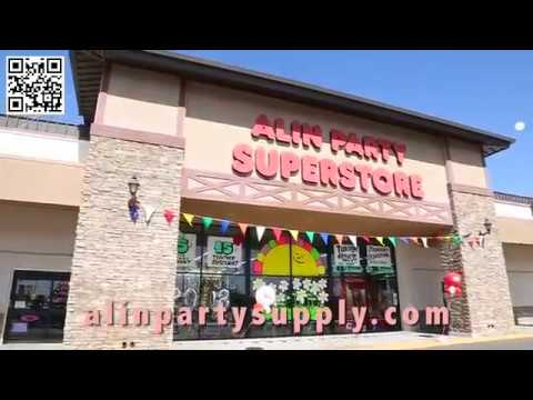 Alin Party Supply | Party Supplies, Gifts, Balloons & More