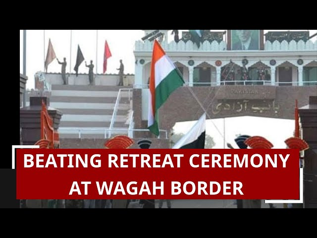 Patriotic fervour grips Attari-Wagah border on eve of Independence Day