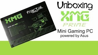 Gambar cover XMG Prime Mini Gaming PC powered by Asus Unboxing Mini PC von XMG *DEUTSCH*