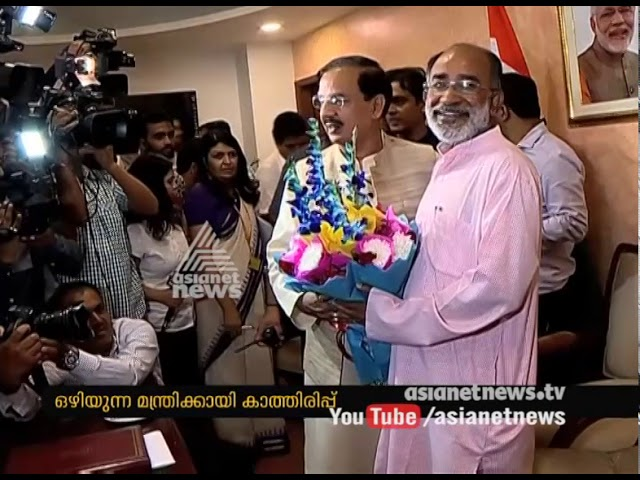 Alphons Kannanthanam take charge as Tourist Minister