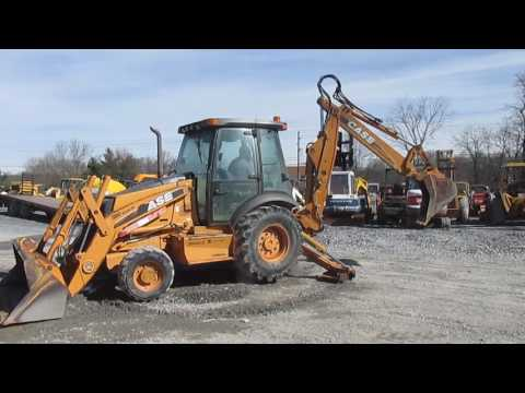 2008 Case 580SM Series 3 Tractor Loader Backhoe w/ Cab!