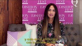 Megan Fox Quien Interview   Fashion Fest AW 2017
