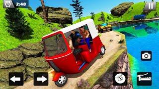 Tuk Tuk Driver Offroad Drive 2020 - Android Gameplay hd screenshot 2