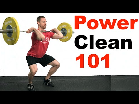 How to Power Clean (Olympic Weightlifting 101)