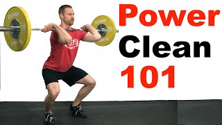 How to Power Clęan (Olympic Weightlifting 101)