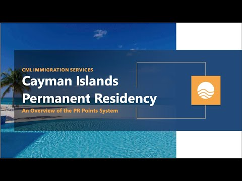 Cayman Islands Permanent Residency | A Brief Overview of the PR Point System (2021)
