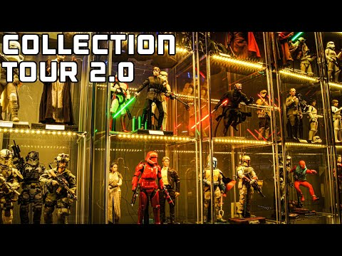 My Hot Toys Collection Room 4k Tour 2.0 (Jan. 2020)