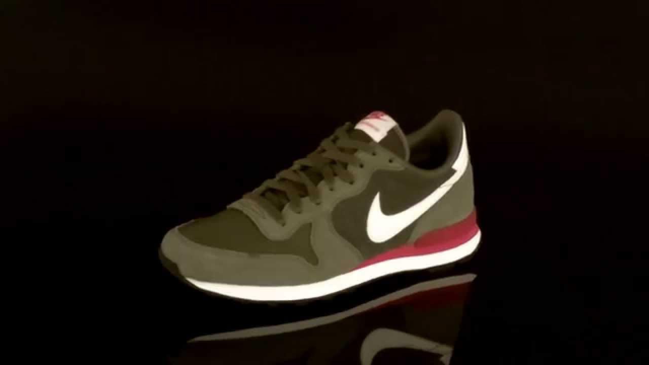 Nike Internationalist Leather Sneaker Khaki Sail Olive 631755