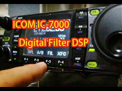 ICOM IC-7000 Digital Filter DSP