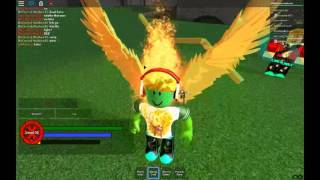 Roblox Arc of the elements gameplay Phoenix Mechanization And Astral