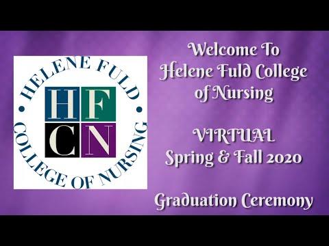 Helene Fuld College of Nursing Spring & Fall Graduation Ceremony 2020
