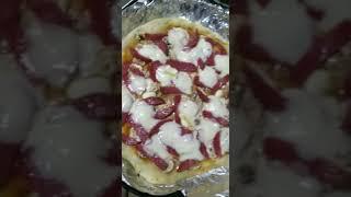Пицца с Моцарелла. #рецепты #пицца #еда