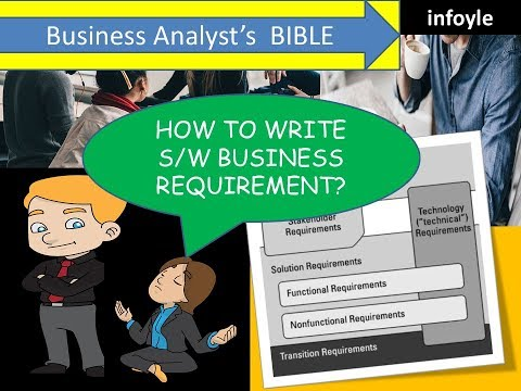 Software Business requirements for Beginners