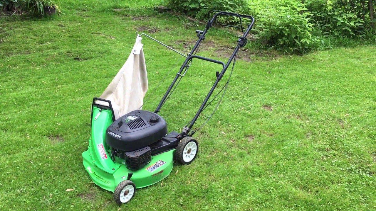 Lawn Boy Model 10323 Overview And Demonstration