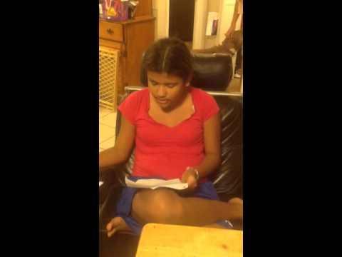Arianna singing a song she wrote for Abuelita