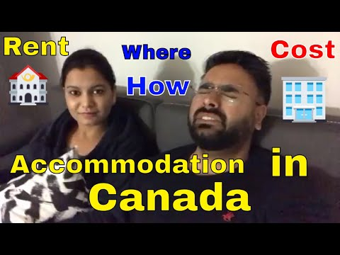 How to find accommodation in Canada