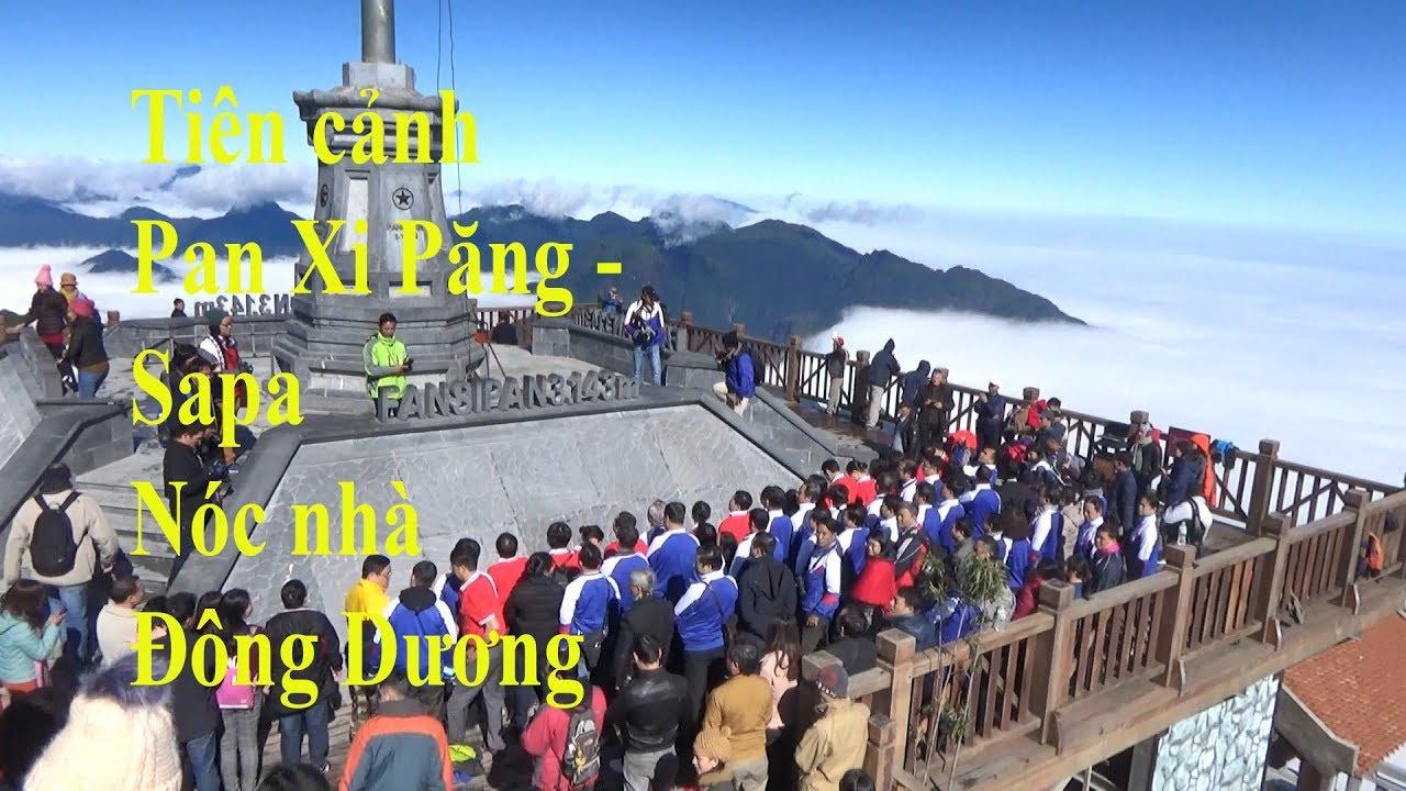 Du lịch Sapa, Pan Xi Păng bằng cáp treo-Như đến thiên đường.